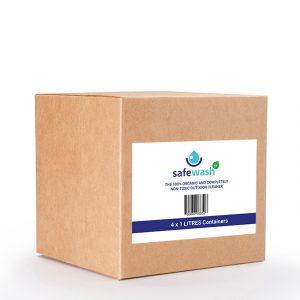 Safewash Cleaner box 4 x 1L